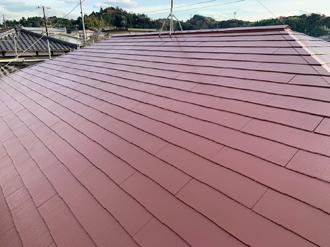 18.屋根塗装完工写真