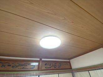 天井張り替え工事完了
