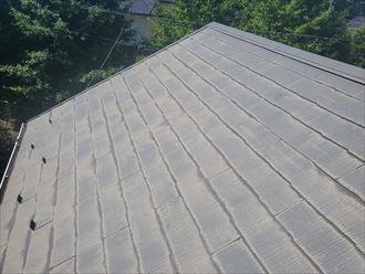 千葉市若葉区にてスレート屋根の調査