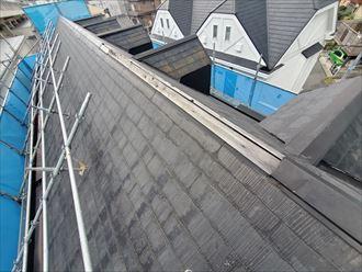 令和元年房総半島台風の影響で棟板金が飛散