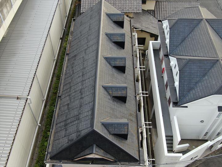 船橋市海神にて行った棟板金交換工事が完了