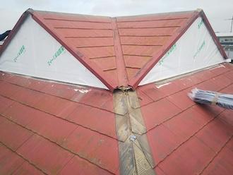破風板の撤去