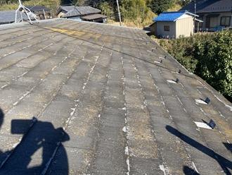 パミール屋根、剥がれ