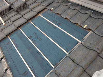 屋根葺き直し工事