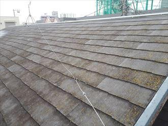 10年経過したスレート屋根