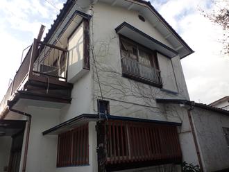 令和元年房総半島台風の被害を受けた建物