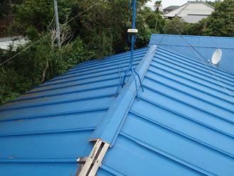 増築された部分の屋根
