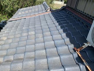 瓦屋根の調査