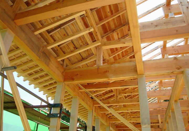 木造軸組法の小屋組み(屋根の骨組み)である和小屋組についてご紹介します!
