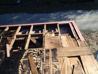垂木野地板の腐食