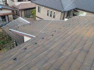 コロニアル屋根の点検