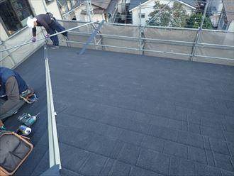 屋根葺き替え終わり