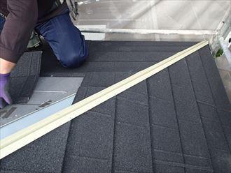 屋根材の角の収まりが良い