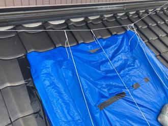 台風による屋根被害