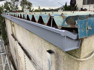 軒樋の設置