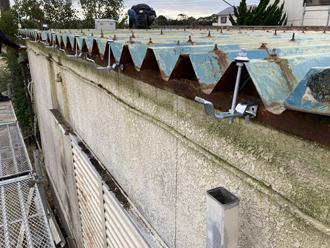 雨樋吊り具の設置