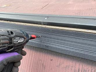 貫板を取り付け