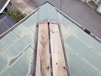 木材貫板の腐食が進んでいます