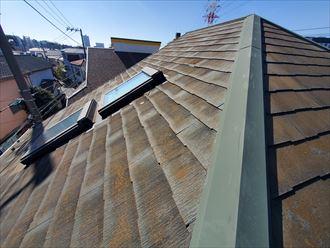 船橋市夏見にてコロニアル屋根調査