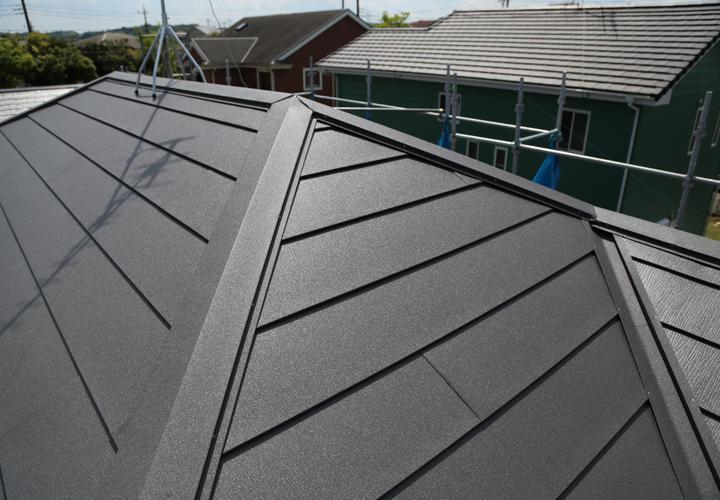 屋根葺き替え工事でパミールの不具合を解消