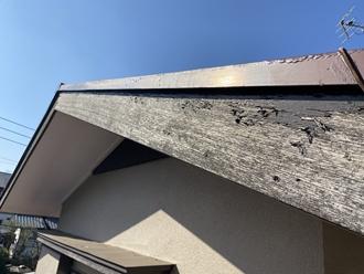 破風板の調査
