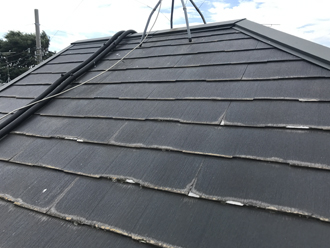 パミール屋根の調査開始