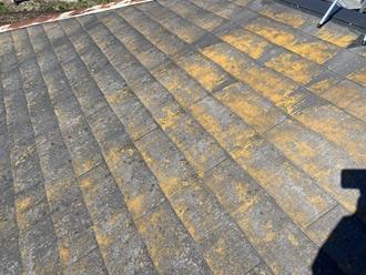 スレート屋根、点検