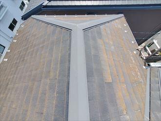 千葉市若葉区にてスレート屋根調査