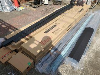 屋根葺き替え工事にて使用したスーパーガルテクト