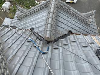 散水試験 屋根