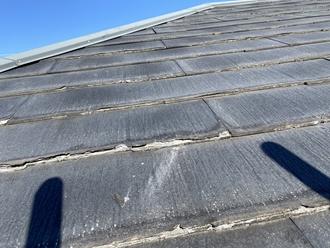 パミール屋根剝離