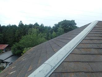 令和元年房総半島台風の被害を受けたスレート屋根の調査を行いました