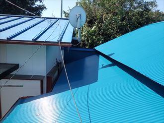 雨漏り修理 屋根葺き替え工事