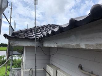 雨樋吊り金具撤去