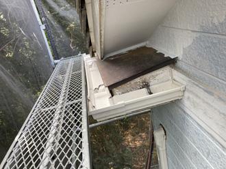 雨樋設置完了
