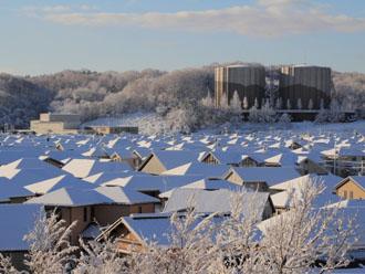 すがもれは雪が多い地域でよく発生します
