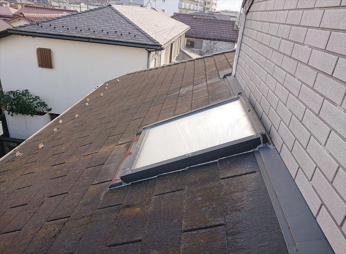 天窓が取り付けられていました。