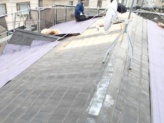 屋根カバー工法防水紙