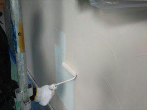 ナノコンポジットWのNC-04で塗装した外壁