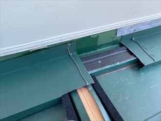 雨押えの樹脂製貫板
