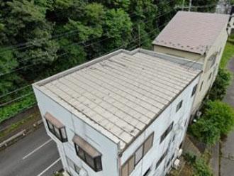 ドローンを用いた屋根調査