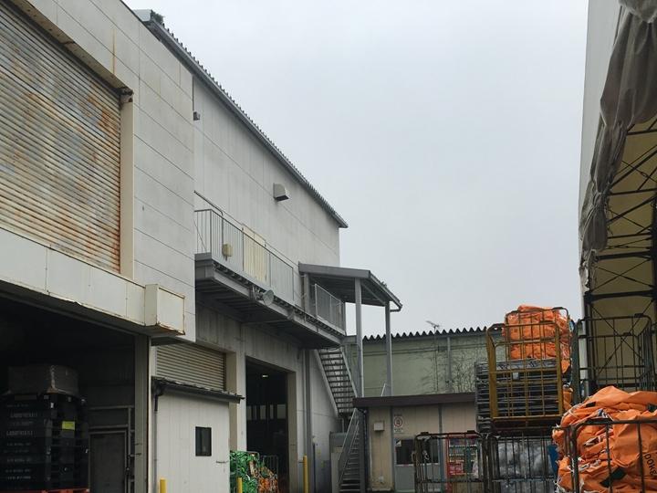 工場雨樋調査