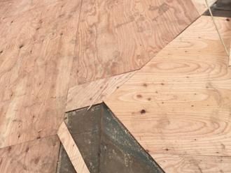 葺き替え野地板