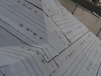 葺き替え防水紙