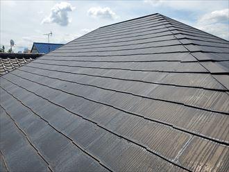 築28年が経過したスレート屋根調査