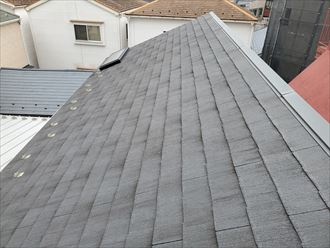築12年が経過したスレート屋根の調査