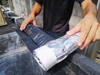 棟取り直し工事にて使用した乾式面戸