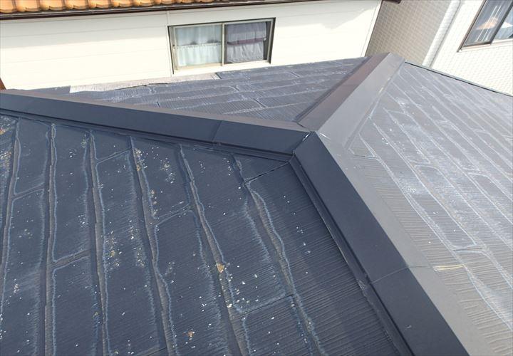 経年劣化の見受けられるスレート屋根