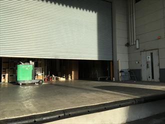 木更津市の部品倉庫で雨漏り調査 外壁確認しました