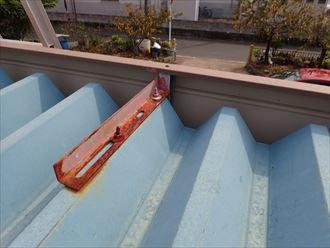 千葉市 折板屋根の塗装調査005_R